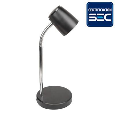 Lámpara de escritorio negra