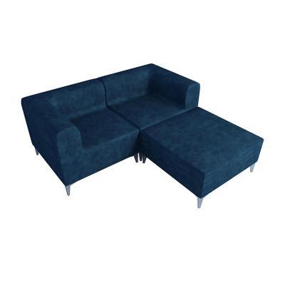 Seccional 162x91x69 cm azul