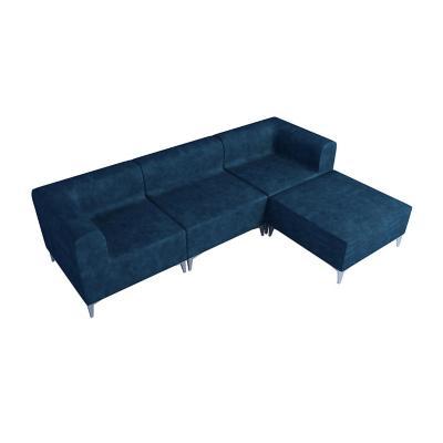 Seccional 252x181x69 cm azul