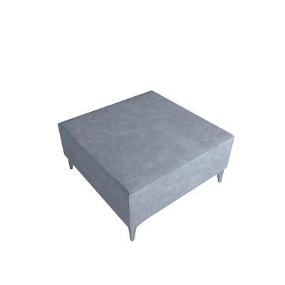 Pouf 70x91x69 cm gris