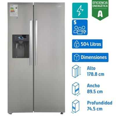 Refrigerador side by side 504 litros