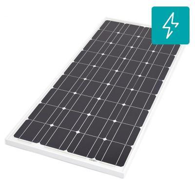 Panel fotovoltaico monocristalino 100W 12V