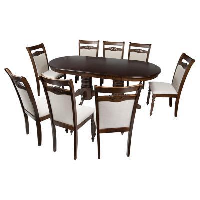 Juego de comedor MDF 8 sillas