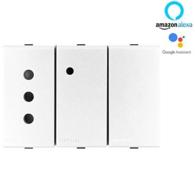 Enchufe inteligente Wifi 10A 250V 2P+T magnesio