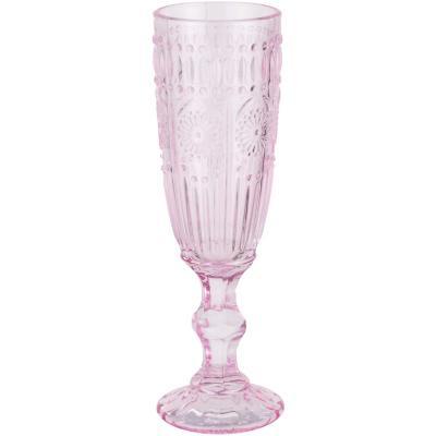 Copa vidrio 150 ml rosada 1 pieza