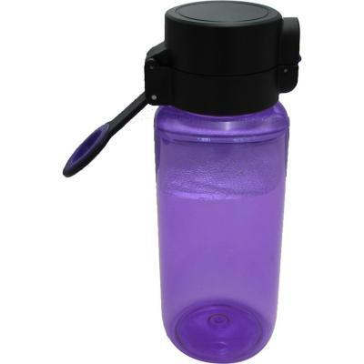 Botella tritán violeta 650 ml