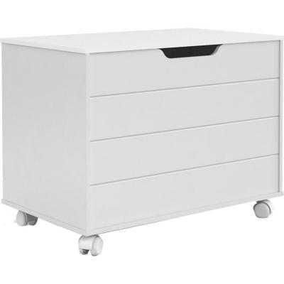 Baúl 70x51x43 cm blanco