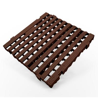 Piso modular industrial plataforma café  50x50 cm