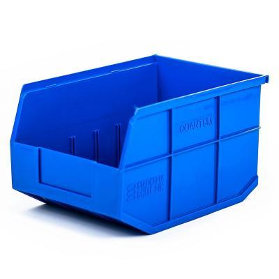 Contenedor plástico organizador azul