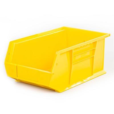 Contenedor plástico organizador amarillo