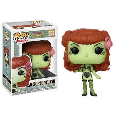 Figura Pop Heroes Dc Bombshells Poison Ivy