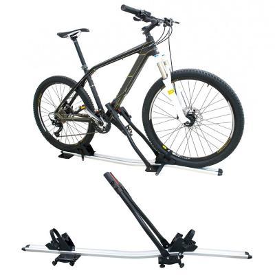 Porta bicicleta para vehiculo aluminio techo