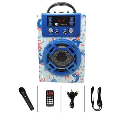 Parlante mini karaoke octopus
