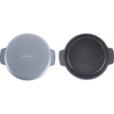 Molde aluminio 8 tazas redondo