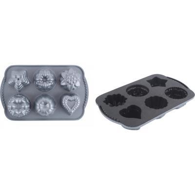 Molde aluminio 1 taza muffins