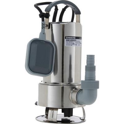 Electrobomba agua sucia- inox. 1 HP 216 l/min