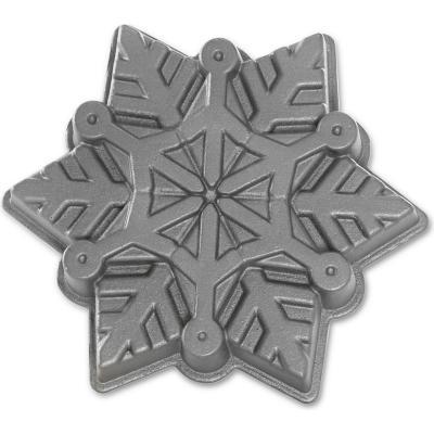 Molde aluminio 5 tazas copo de nieve