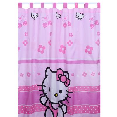 Cortina tela Hello Kitty Strawberry 145x220 cm multicolor