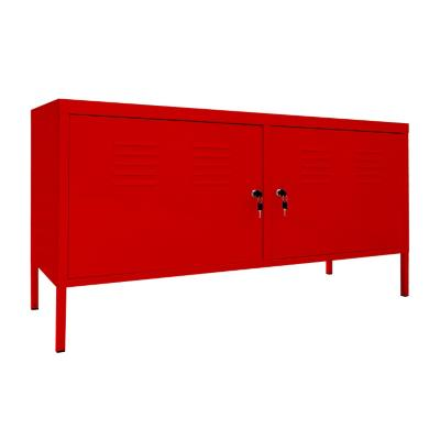 """Rack de TV 52 """" 118x40x60 Rojo"""