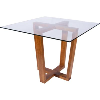 Mesa de comedor cuadrada 100x100 cm