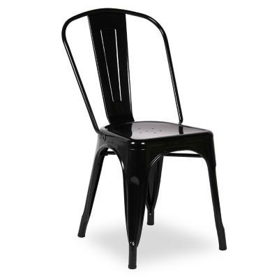 Pack 4 sillas tolix ec 86x47x45 cm negro