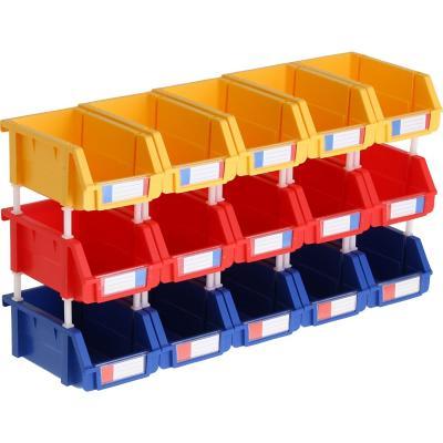 15 cajas organizadoras 10x16x7,4 cm
