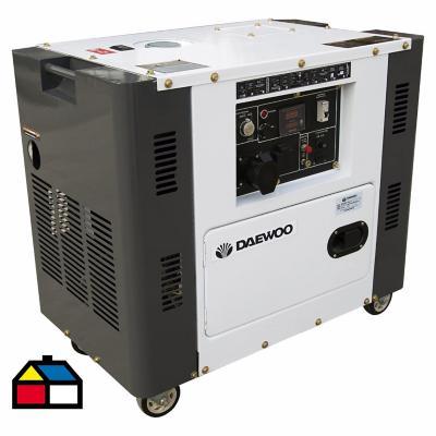 Generador eléctrico a diesel 5000W insonorizado