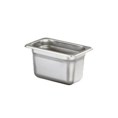 Contenedor gn acero inox. 1/6 x 15 cm 2,6 litros