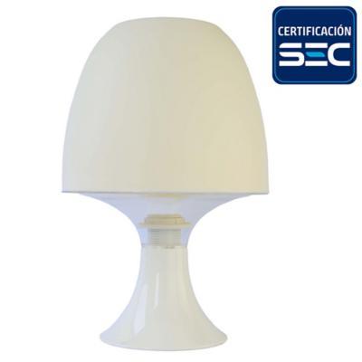 Lámpara de mesa E14 30W blanco