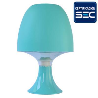 Lámpara de mesa new colores celeste