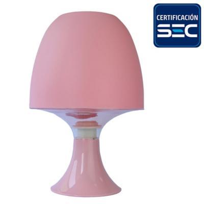 Lámpara de mesa E14 30W rosa