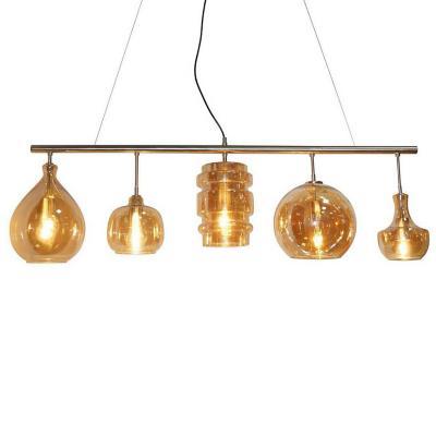 Lámpara colgante 5 luces E27