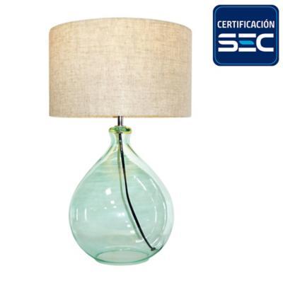 Lámpara de mesa 1 luz E27