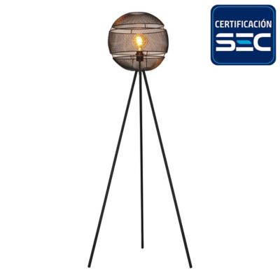 Lámpara de pie  1 luz E27