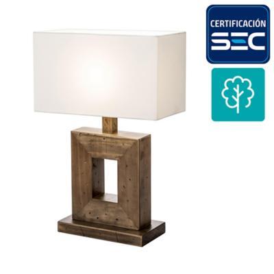Lámpara mesa shangrilla 1 luz
