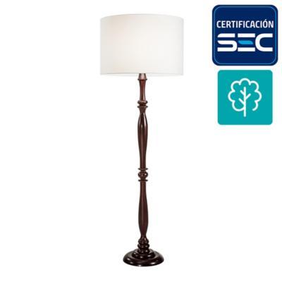 Lámpara pie sabah 1 luz