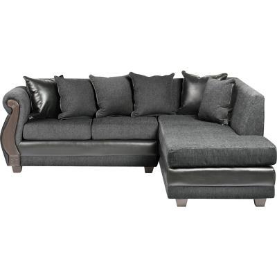 Seccional 120x77x64 cm gris oscuro