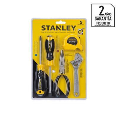 Set de 5 piezas herramienta manuales