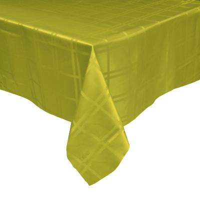 Mantel Roma 180x180 cm verde cuadrado poliéster