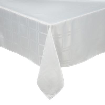 Mantel Roma 180x180 cm blanco cuadrado poliéster