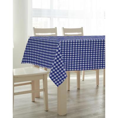 Mantel Italy 180x180 cm azul cuadrado poliéster