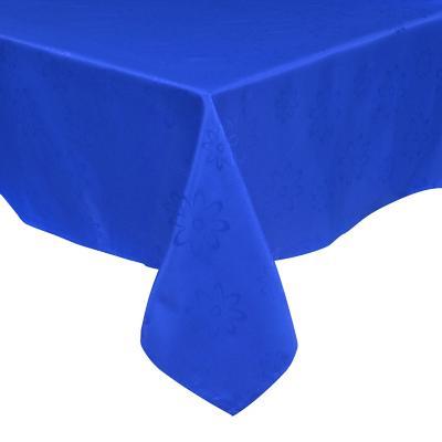 Mantel Agatha 180x180 cm azul cuadrado poliéster