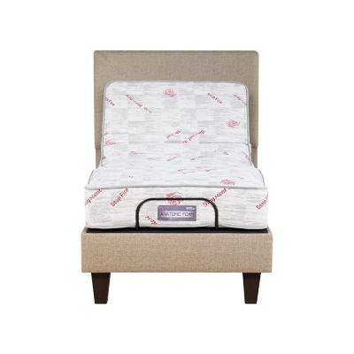 Cama Europea Anatomic Bed 1 plaza long + respaldo