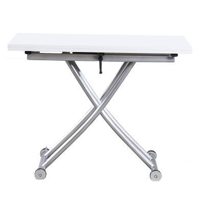 Mesa plegable blanco 100x57x60 cm