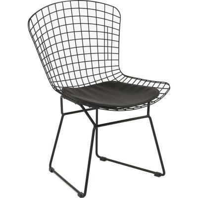 Set 2 sillas 51x134x9 cm negro