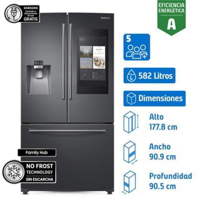 Refrigerador french door 582 litros - black rf265beaesg