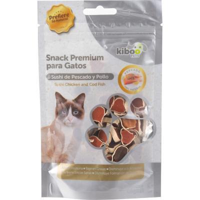 Snack gato rebanadas de pato