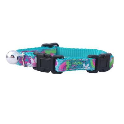 Collar gato doble seguridad azul
