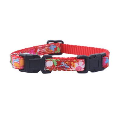 Collar gato doble seguridad rojo