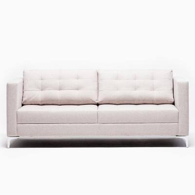 Sofa 3 cuerpos 74x86x200 cm café
